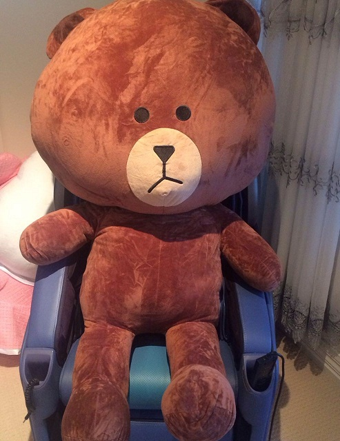 Brown Bear Line 140cm